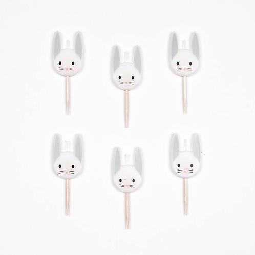 I Heart Bunny Candles