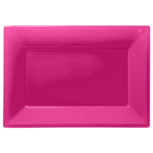 Hot Pink Serving Platter