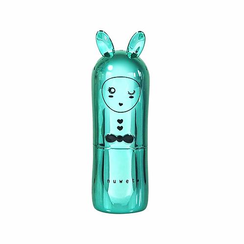 Inuwet Turquoise Metallic Edition Cupcake Bunny Lip Balm