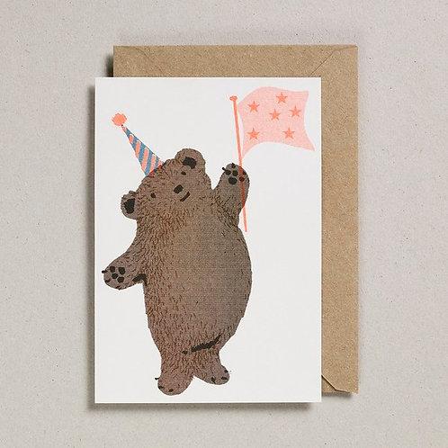 Petra Boase Party Bear Card
