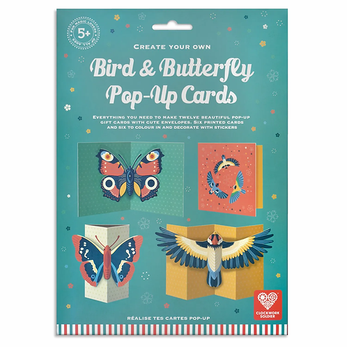 Make your own Butterfly and Bird Cards