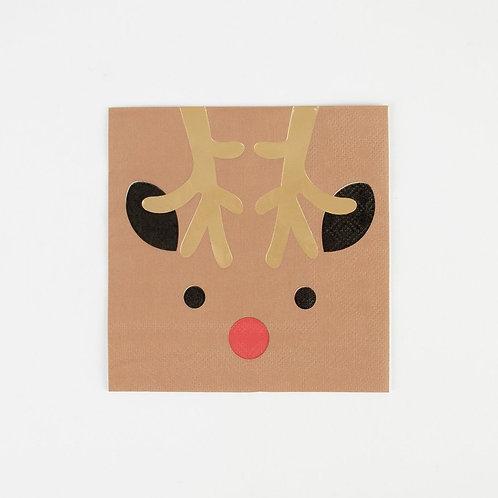 Reindeer Small Napkin