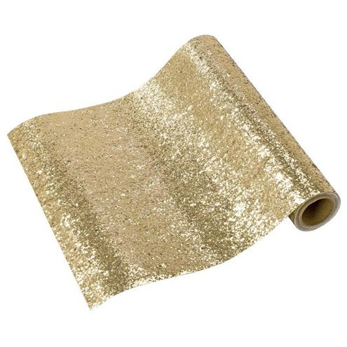 Gold Sparkly Table Runner