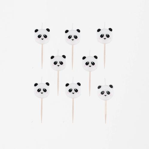 My Friend, Panda Candles