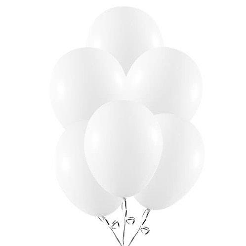 White Latex Balloons