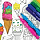 Thumbnail: Double Dip Ice Cream Scented Markers