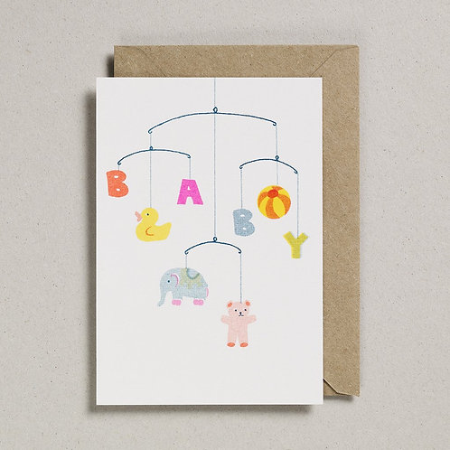 Baby Mobile Card