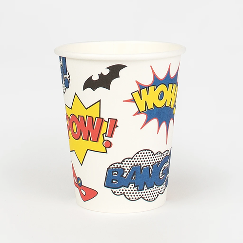 My Little Day Superhero Cups