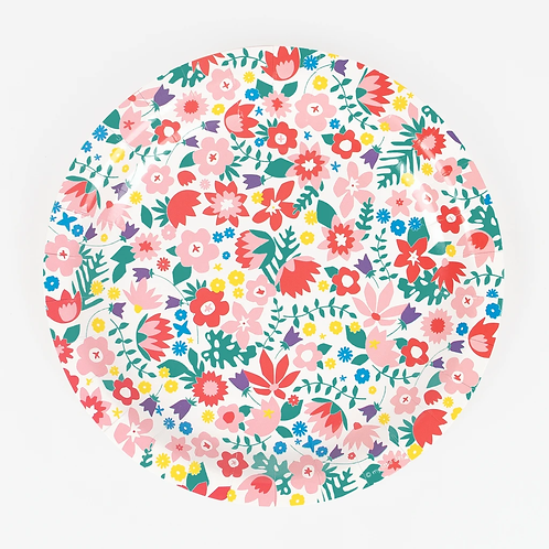 My Little Day Floral Plate