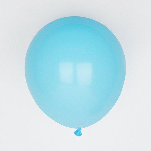 Pale Blue Latex Balloons
