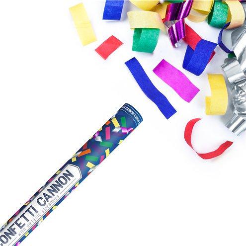 Multi Coloured Confetti Cannon