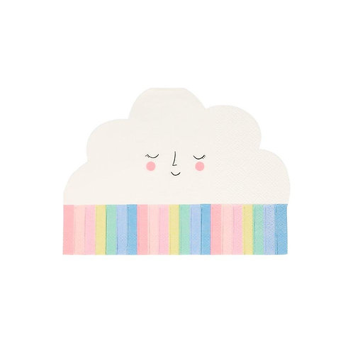 Rainbow Cloud Party Napkins