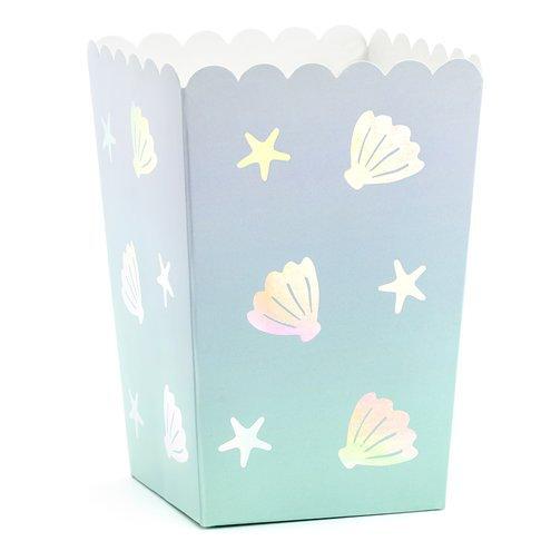 Mermaid Shell Popcorn Box