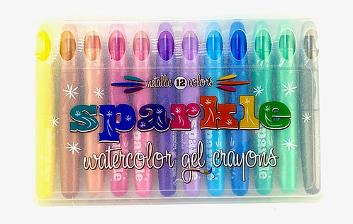 Ooly Rainbow Sparkle Watercolour Gel Crayons