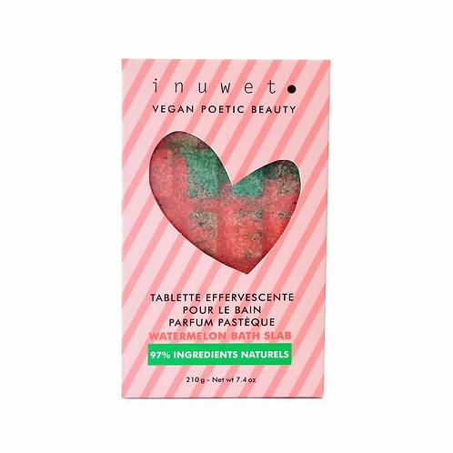Inuwet Watermelon Bath Slab