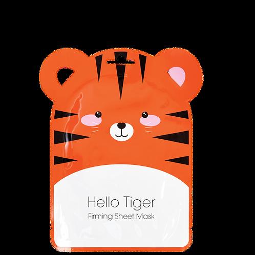 Hello Tiger Face Mask