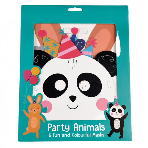 Party Animal Face Masks