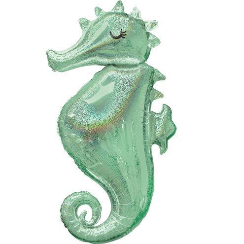 Mermaid Wishes Seahorse Balloon