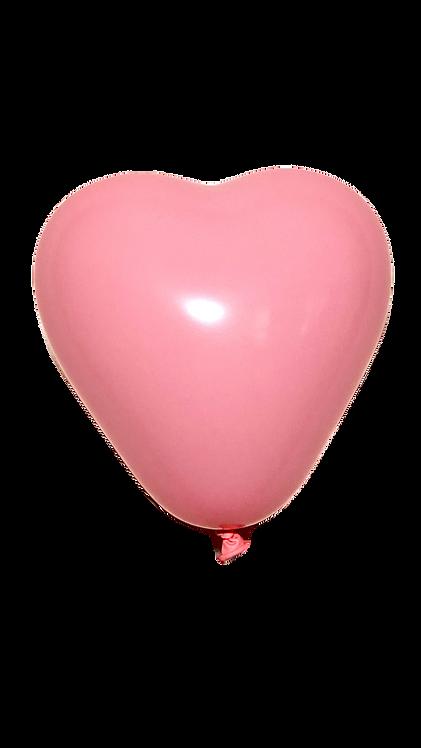 Pale Pink Heart Mini Balloons