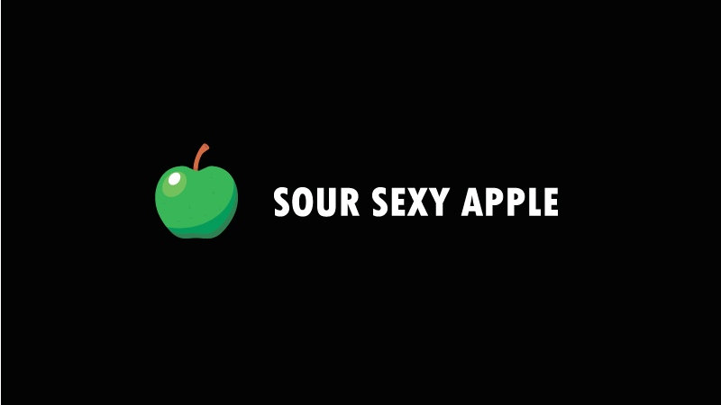 """Black Jam"" Sour sexy apple"