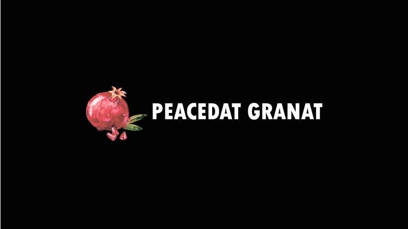 """""""Black Jam"""" Peacedat granat"""