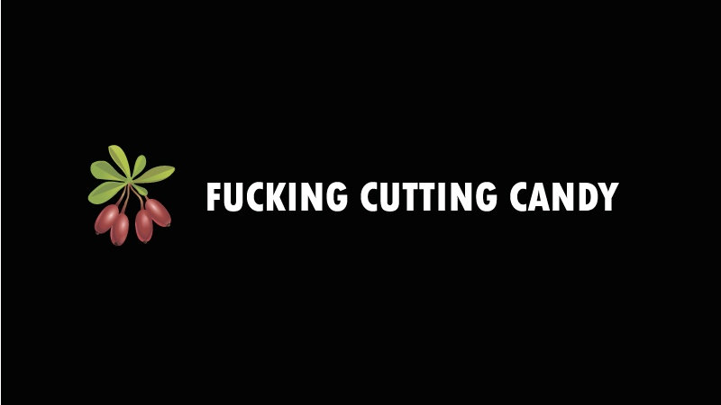 """Black Jam"" F**king cutting candy"