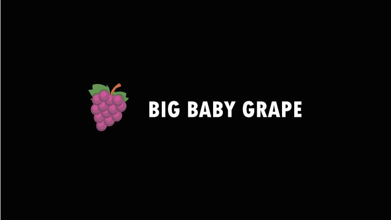 """Black Jam"" Big baby grape"