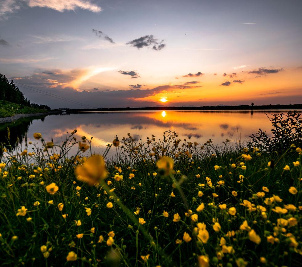 Sonnenuntergang-Fruehling-Jochstubnsee-S