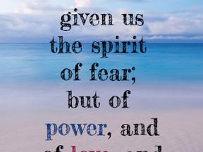 Power, Love, Sound Mind