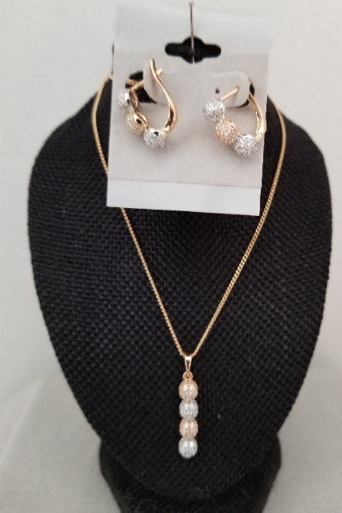 Gold Filled Necklace Set