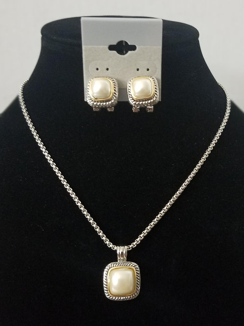 Faux Pearl Set Custom Jewelry Set 17''-20'' long