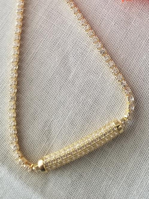 Gold Filled  or Sterling Silver Bracelet with Plaque