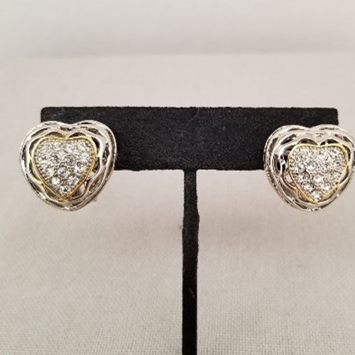 Earrings Heart Shaped