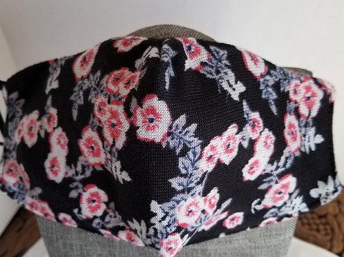 Pink Floral Mask