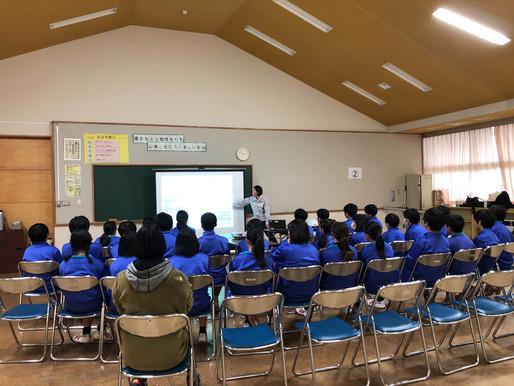 2019.11.27(水)学校キャラバンに参加しました