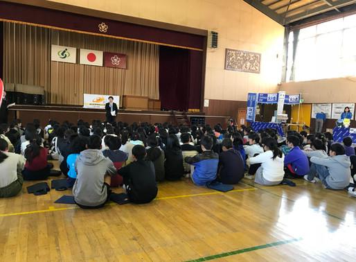 2018.12.14(金) 学校キャラバンに参加しました