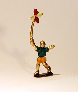 """Mini Escultura """"Catavento"""" do artista Ivan Cruz - Brincadeiras de Criança"""