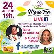 TALITA - ARTE LIVES MARIA FLOR - AGOSTO.