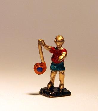 """Mini Escultura """"Iô-iô"""" do artista Ivan Cruz - Brincadeiras de Criança"""