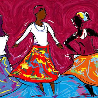 Série Arte & História -  Mulheres no Jongo - Yuri Vasconcellos