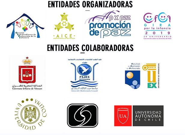 Entidades Organizadoras