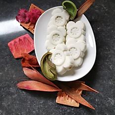 noix de coco à la pistache