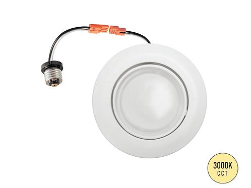 "4"" LED Gimbal Retrofit Downlight / 10W / 650LM"