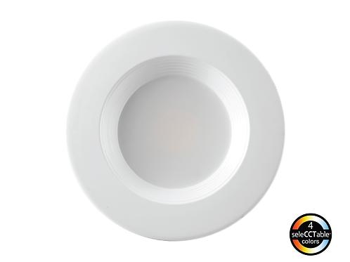 "6"" LED CCT Adjustable / Retrofit Downlight / 15W"