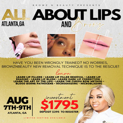 All about lips and brows