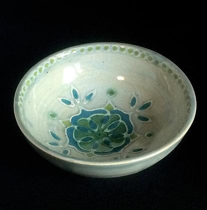 Celadon & Jade Mandala Small Bowl