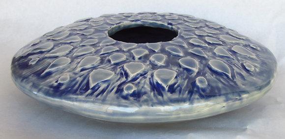 Pocelain Carved Mandala Vessel