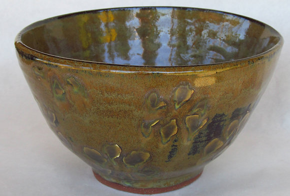 Redstone Earthy Flower Small Serving Bowl
