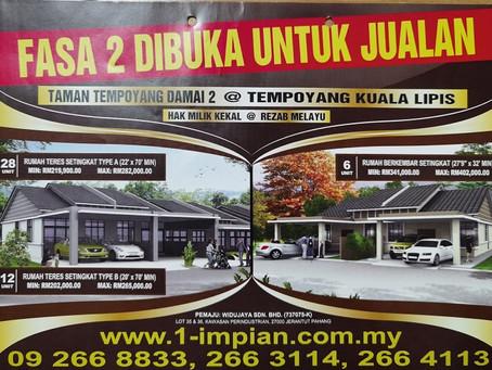 TAMAN TEMPOYANG DAMAI FASA 2 @ Kuala Lipis