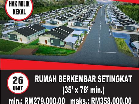 Taman Impian Perdana Fasa 1 - Semi D    Tinggal 1 Sahaja!! @ Jerantut